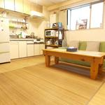 "Photo: リビング                             - 原宿3大公園住宅地プライベートルーム"" Harajuku Parkside Private room w/Green View 4mins to JR station """