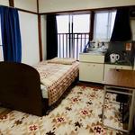 Photo: Single Room                             - Nishihara House in front of Shibuya Ward sports center
