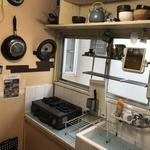 画像: キッチン                             - 1ヶ月以上長期滞在の方募集中(12月13日〜)