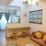 画像: リビング                             - 京都の一軒家★少人数制の社会人シェアハウス★新築女性限定の綺麗な室内★全室鍵付個室