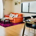 画像: リビング                             - 東京都内8畳広々南向部屋-仏蘭西デザインハウス