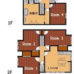 画像: 間取図                             - ◆岡山市北区下伊福に女性限定のシェアハウス「TSUBAKI」がOPEN◆