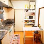 Photo: キッチン                             - 下北まで徒歩10分!5万円の個室、すぐに入居可!きれいです!