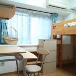 画像: 個室                             - 【女性限定】オートロック・家具付き・収納あり電チャリ・