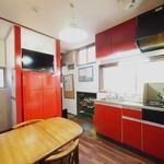 画像: キッチン                             - 人気の白金台駅徒歩6分! 格安キレイなシェアハウスです。