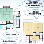画像: 間取図                             - 【駅近8分!】西武池袋線 清瀬駅 徒歩8分 一軒家貸!