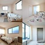 画像: 個室                             - 駐車場完備 女性に人気の新築のお部屋 広々バスルーム