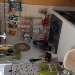 画像: キッチン                             - 女性2人と2匹の猫と一緒に気楽に暮らしませんか?