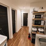 画像: キッチン                             - 女性専用!!新築で綺麗なシェアハウス!!都会の喧騒を離れた生活をしてみませんか?