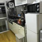 画像: キッチン                             - 北千住徒歩8分 2DK 短期サブレット即日~9/10予定(延長はご相談) 2週間で2万円