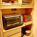 画像: キッチン                             - [ 女性専用 ]今なら長期滞在で1ヶ月の家賃が無料です!!