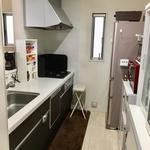 画像: キッチン                             - 松戸市の築2年の4LDK一戸建て/6帖(エアコン・クローゼット付)光熱費Wi-Fi込み
