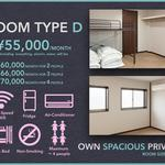 Photo: Single Room                             - ¥45,000 including EveryUtility fee ~ECHO HOUSE Osaka~