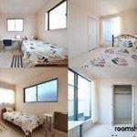 画像: 個室                             - 女性に人気の広々バスルーム 新築のお部屋