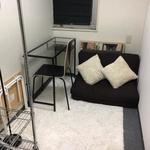 Photo: Single Room                             - 1月末空き予定。二人部屋ドミ27800円、完全個室47100円、六本木駅5分