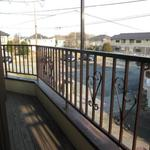 画像: ベランダ                             - 【Nuro光!】東村山駅徒歩約10分 完全個室、鍵、エアコン付!