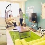 Photo: Single Room                             - 広いバスルーム 新築のお部屋です