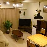 Photo: リビング                             - 柏の葉キャンパス 駅徒歩6分 6畳個室(家具付き) 共益費+WiFi使用料込み