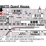 画像: 最寄駅                             - 5/18(月)〜異文化シェアハウスOPEN!海外の方と相部屋になれるシェアルーム!京都駅近く☆