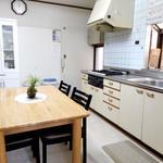 画像: キッチン                             - 渋谷・目黒エリアの日当たりの良い個室