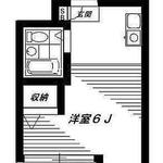 Photo: 間取図                             - Utilities included / No security deposit / 5 minutes to Shinjuku Station