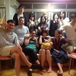 画像: リビング                             - MIYAKO HOUSE 京都北野 share house in Kyoto
