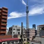画像: 眺望                             - 浅草・本所吾妻橋駅近く、スカイツリーが綺麗に見える、浅草寺も近い!