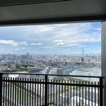 Photo: ベランダ                             - 6 min walk from Toyosu Station, Tower Condo, 12sq room with walk-in closet