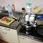 Photo: キッチン                             - Room near Shibuya station (Couples ok), apartment shared with English teacher