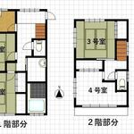 Photo: 間取図                             - A detached private room with 11-minute walk from Nishi Hachioji Station on JR Chuo Line
