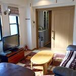 画像: リビング                             - 築地の安い個室