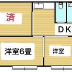 画像: 間取図                             - 急募:女性限定 東京港区 5.6万円