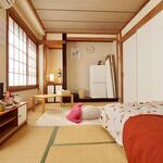 Photo: Single Room                             - A small women-only share house within walking distance to Yokohama Station