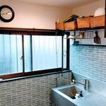 画像: キッチン                             - キャンペーン中!高円寺_女性限定*新宿から2駅!カフェのような一軒家*鍵付個室