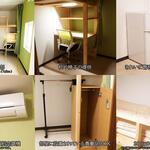 Photo: Single Room                             - 新宿区早稲田⭐初期費用なし⭐インターネット無料!水道光熱費込み!短期、長期利用可能