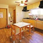 Photo: キッチン                             - 5 minutes walk from Kosuge station next to Kitasenju, private room with key for women,