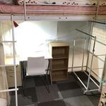 画像: ドミトリー寝室                             - 初月家賃1万円のみ!初期費用総額1万円!