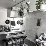Photo: キッチン                             - 4階建て・2LDKのデザイナーズコンクリート町家(自由が丘・尾山台