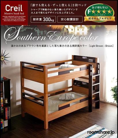 シェアハウス ゲストハウス ベッド