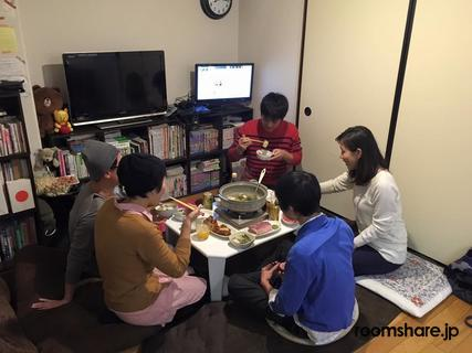 photo of Japan roommate リビング