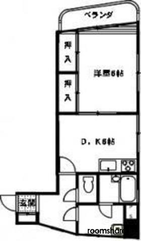 Japan sublet 間取図
