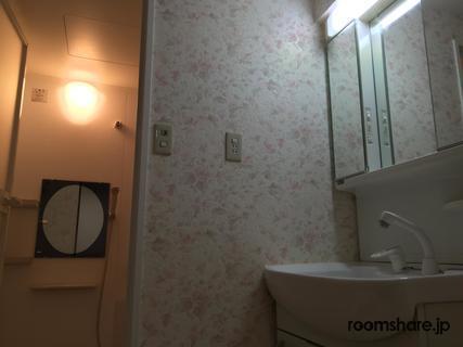 シェアハウス ゲストハウス 洗面所