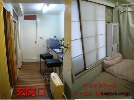 Japan accommodation 玄関