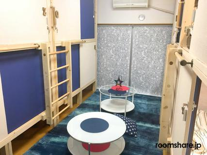 Japan accommodation リビング