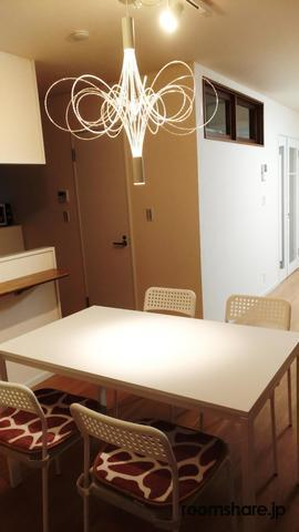 Japan accommodation ダイニング