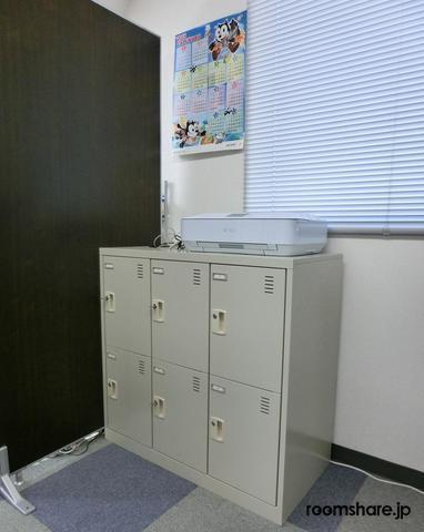 Japan office share 設備