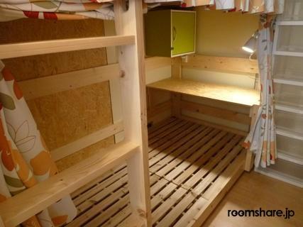 Japan accommodation ベッド