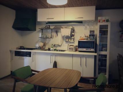 シェアハウス ゲストハウス キッチン