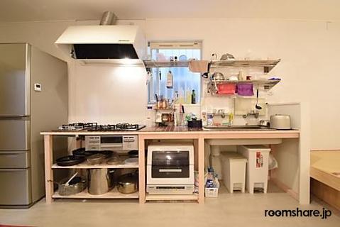 Japan accommodation キッチン