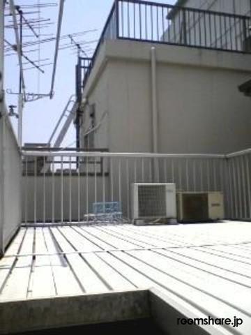Japan accommodation ベランダ